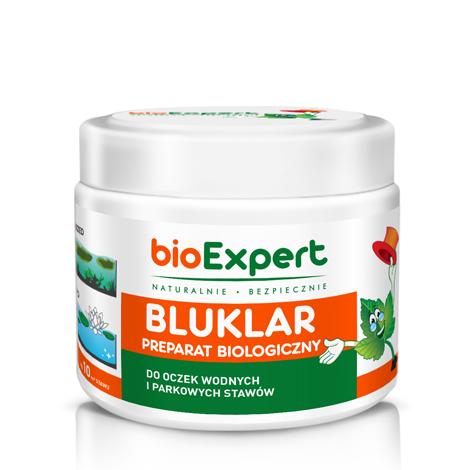 bioExpert Opakowanie preparatu BLUKLAR 250 g przeznaczonego do oczyszczania oczek wodnych i stawów jpeg
