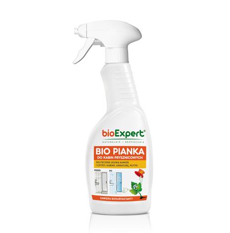 Bio Pianka do kabin prysznicowych 500 ml. bioExpert.