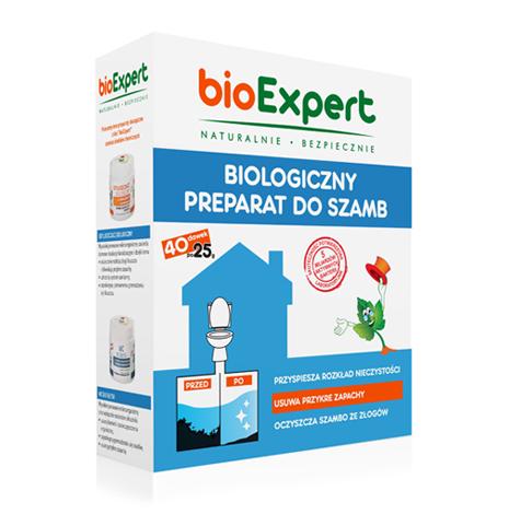 Opakowanie 1 kg biologicznego preparatu do szamb. bioExpert