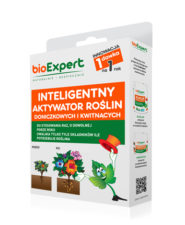 Opakowanie 25 g. Inteligenty aktywator do roślin doniczkowych do stosowania raz na rok. Zawiera makro i mikroelementy niezbędne do wzrostu i kwitnienia. Nie grozi przenawożeniem. Marka bioExpert.