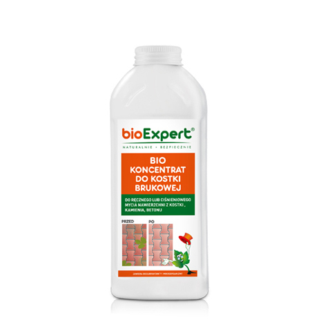 BIO Koncentrat do mycia kostki brukowej 1 l. bioExpert