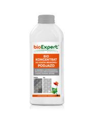 Opakowanie 1l preparatu do czyszczenia kostki brukowej ze smaru, oleju, paliw. bioExpert