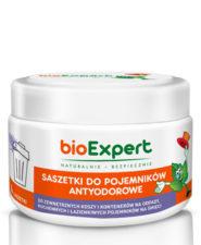 Opakowanie 4 szt, saszetek antyodorowych do koszy na śmieci. bioExpert
