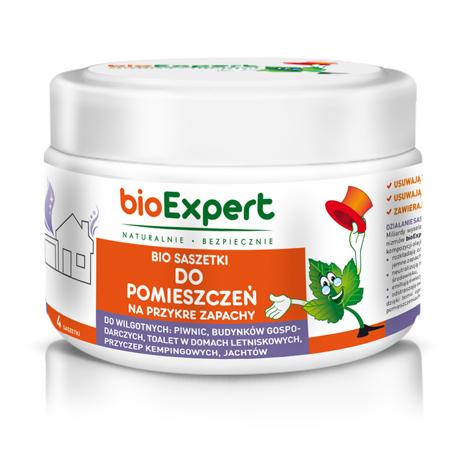 BIO Saszetki na przykre zapachy do pomieszczeń 4 szt. bioExpert